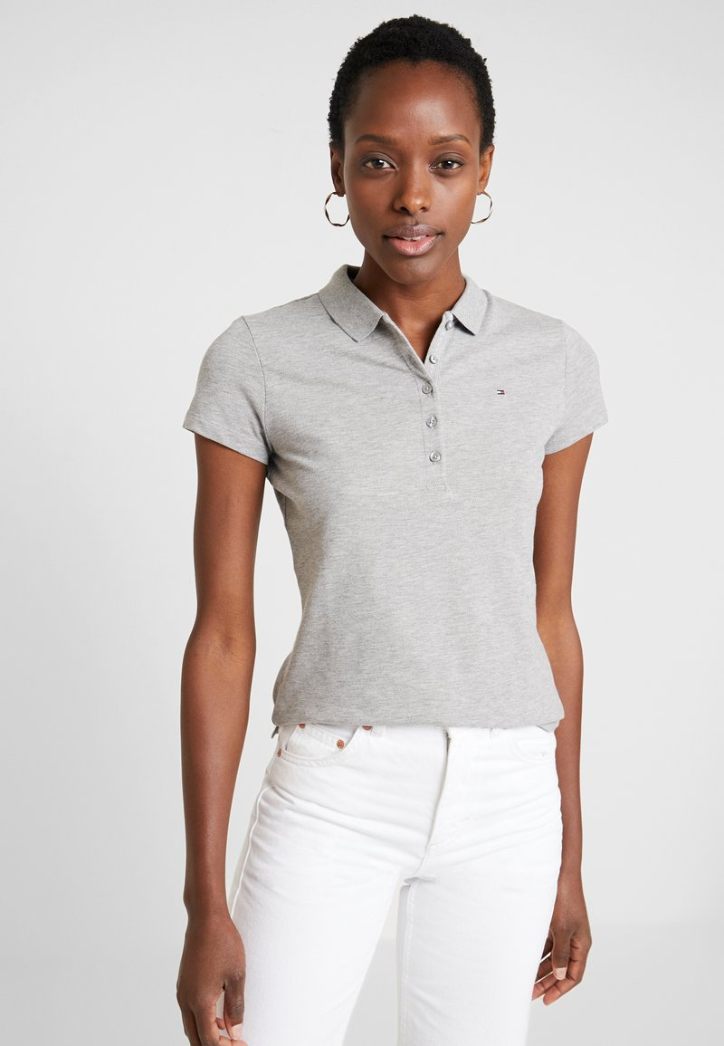 Tommy Hilfiger - NEW CHIARA - Polo - light grey heather