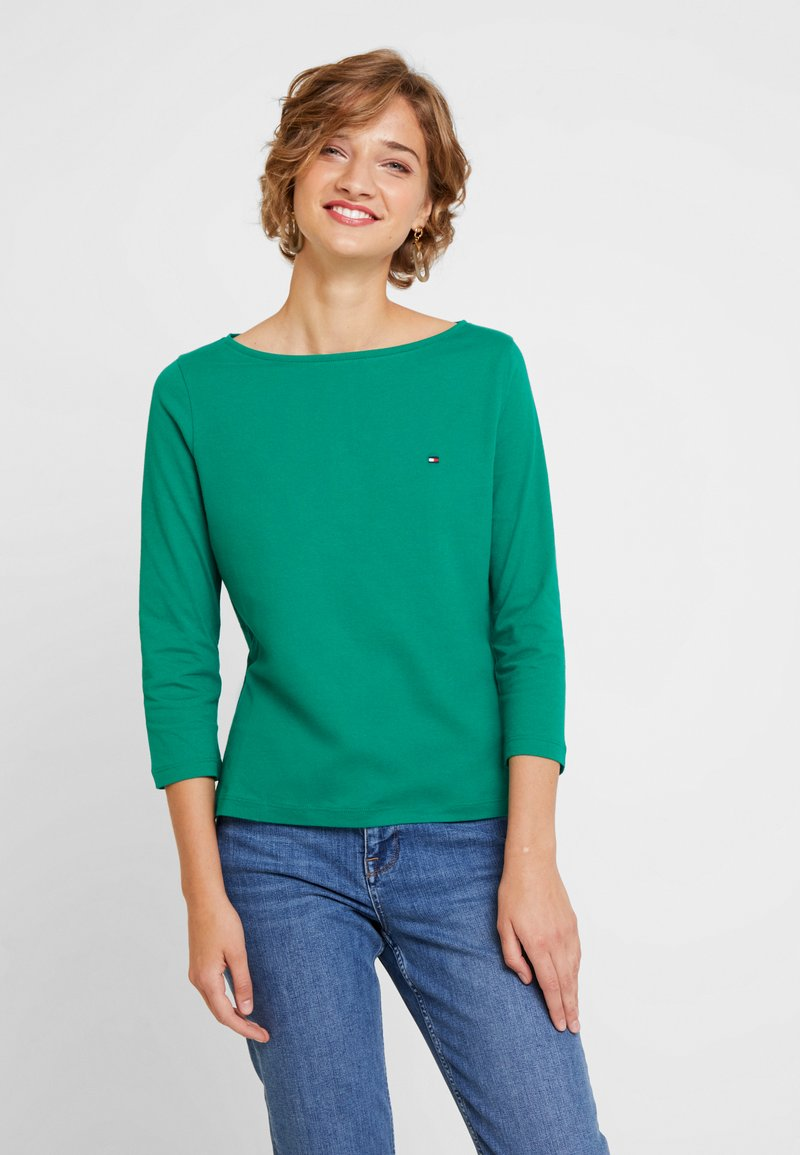 Tommy Hilfiger - NEW TILLY BOAT - T-shirt à manches longues - green
