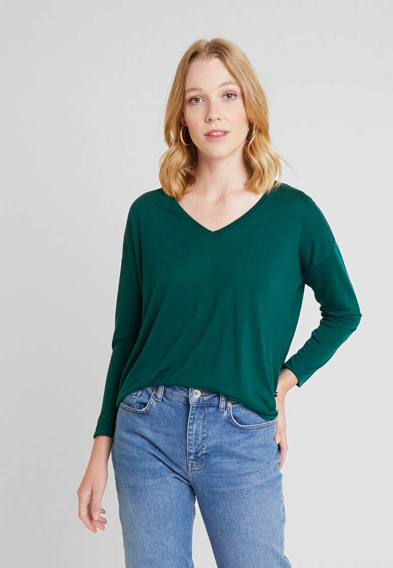 Tommy Hilfiger - ESSENTIAL - Long sleeved top - green