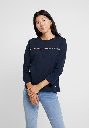 KATIE TEE - Camiseta de manga larga - blue
