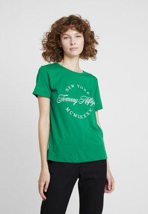 NECK TEE - T-shirt imprimé - green