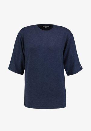 LEXI - Jednoduché triko - blue