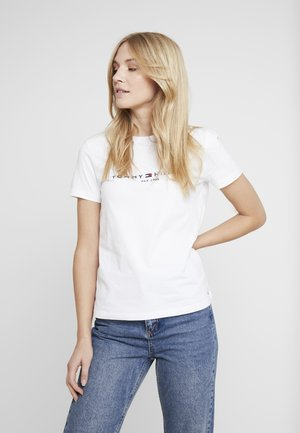 NEW TEE  - T-shirts med print - white