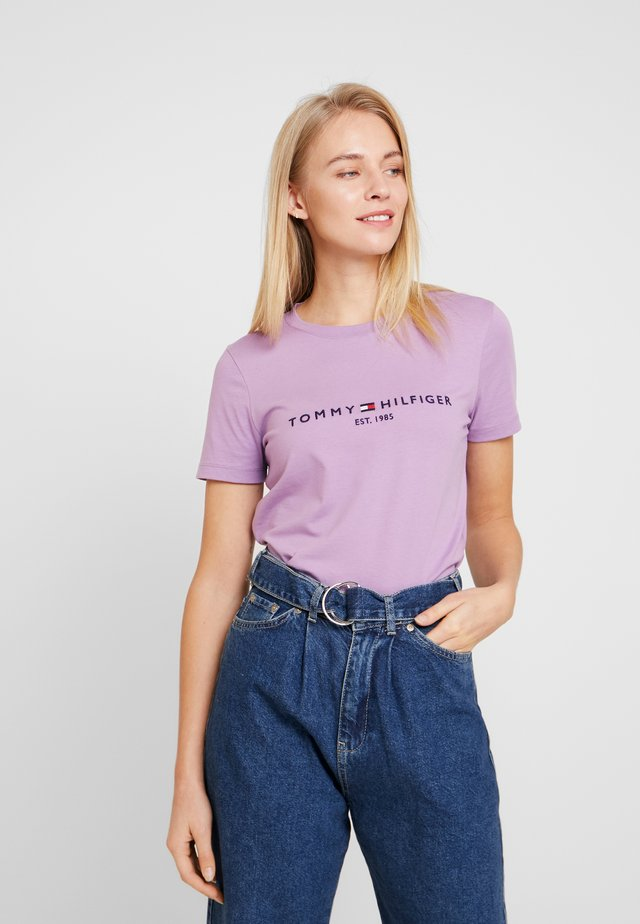 NEW TEE  - T-shirts print - dusty lilac