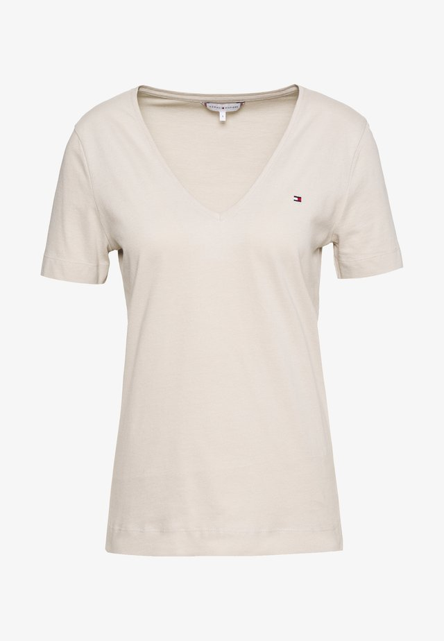 CLASSIC  - Basic T-shirt - light stone