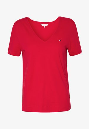 CLASSIC V-NK - Basic T-shirt - red alert