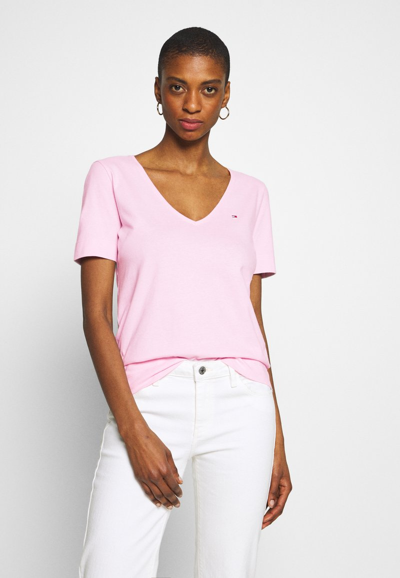 Tommy Hilfiger - CLASSIC  - T-shirt basic - frosted pink