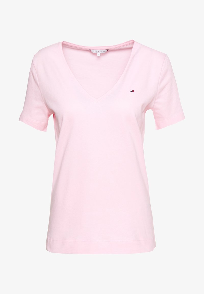 Tommy Hilfiger - CLASSIC  - T-shirt basic - pastel pink