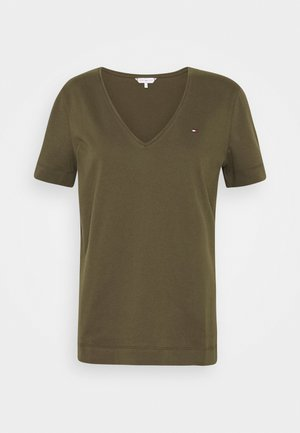 CLASSIC  - T-shirts - army green