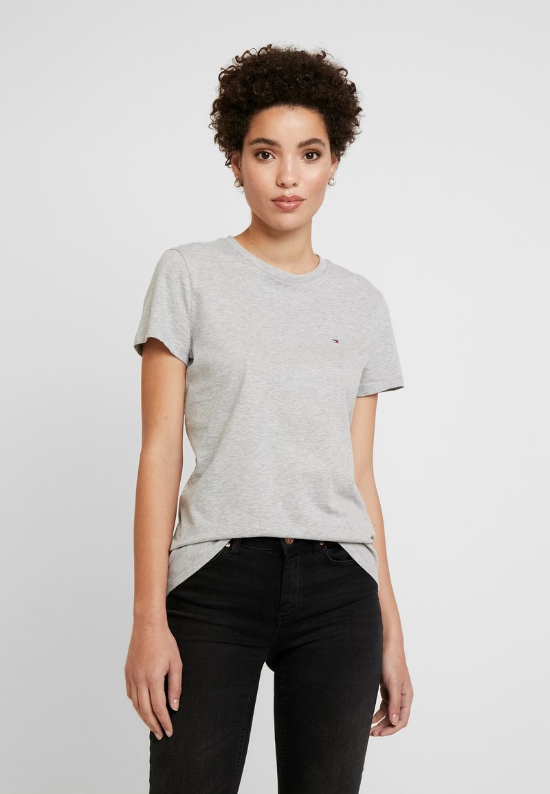 Tommy Hilfiger - CLASSIC - Basic T-shirt - light grey heather