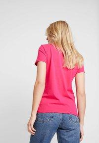 Tommy Hilfiger - Basic T-shirt - pink - 2