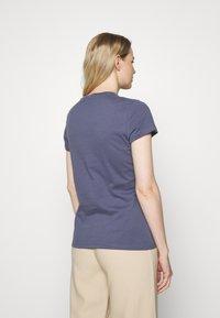 Tommy Hilfiger - T-shirt basic - faded carbon blue - 2