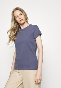 Tommy Hilfiger - T-shirt basic - faded carbon blue - 0