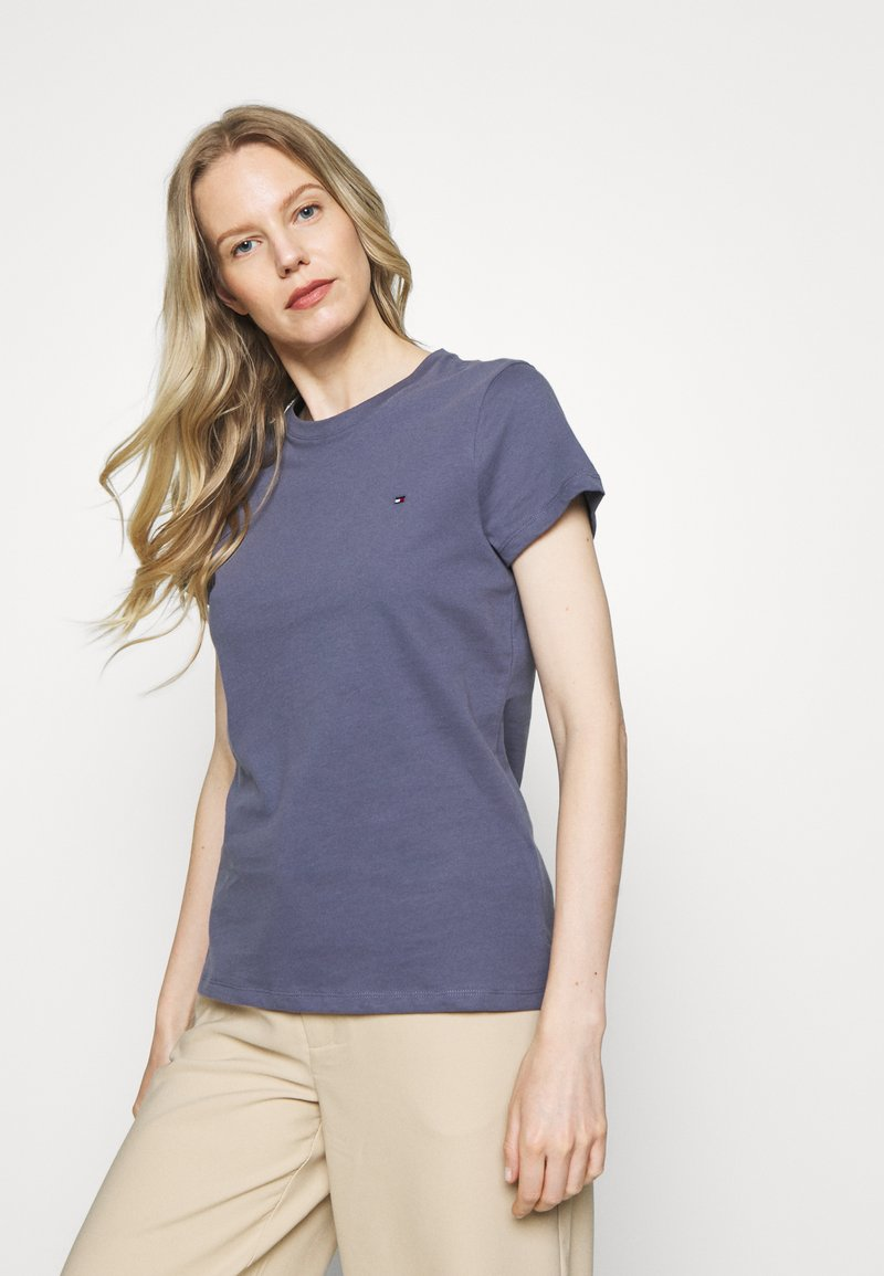 Tommy Hilfiger - T-shirt basic - faded carbon blue