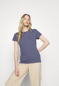 Tommy Hilfiger - T-shirt basic - faded carbon blue - 3