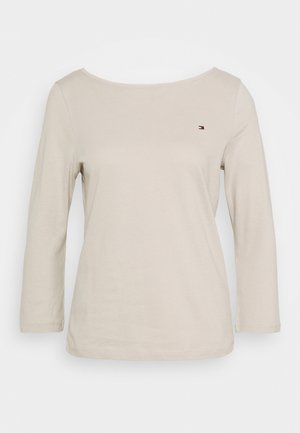 CLASSIC BOAT NECK 3/4 SLEEVE  - T-shirt à manches longues - light stone