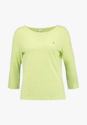 CLASSIC BOAT - Pitkähihainen paita - hyper yellow