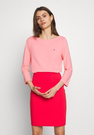 CLASSIC BOAT NECK 3/4 SLEEVE  - Long sleeved top - pink grapefruit