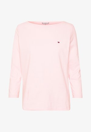 CLASSIC BOAT NECK 3/4 SLEEVE  - Long sleeved top - pale pink