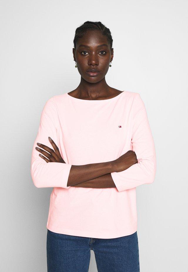 CLASSIC BOAT NECK 3/4 SLEEVE  - Top sdlouhým rukávem - pale pink