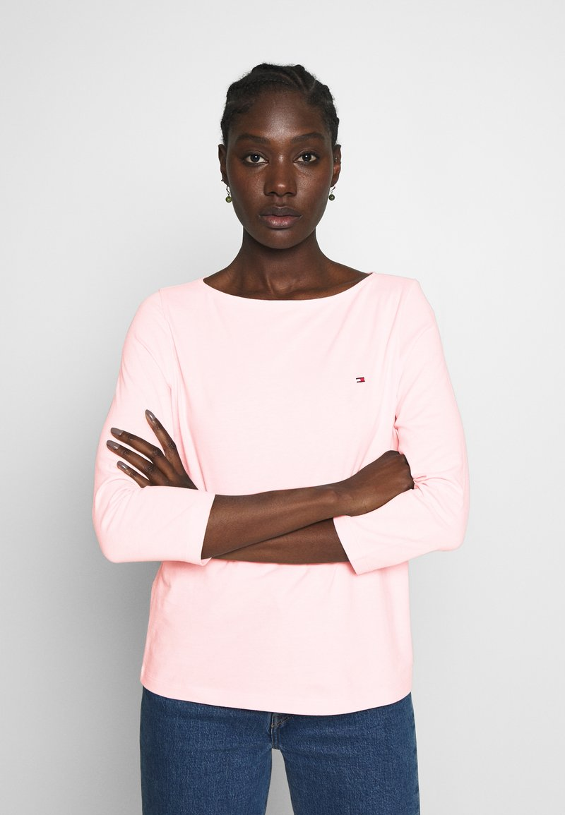 Tommy Hilfiger - CLASSIC BOAT NECK 3/4 SLEEVE  - Maglietta a manica lunga - pale pink
