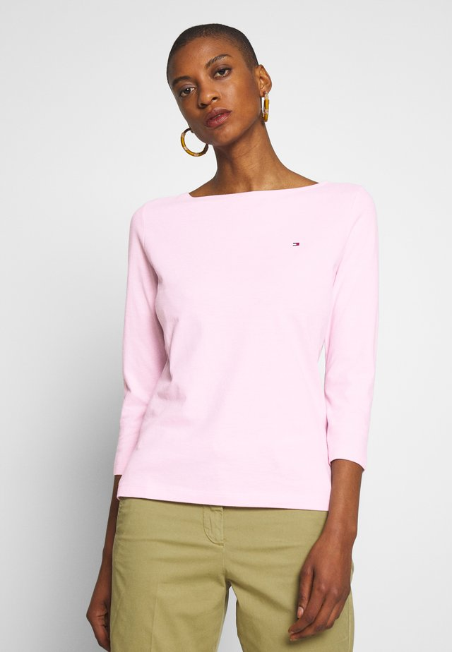 CLASSIC BOAT NECK 3/4 SLEEVE  - Longsleeve - frosted pink