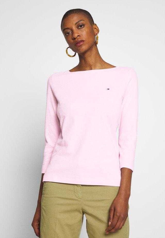 CLASSIC BOAT NECK 3/4 SLEEVE  - Camiseta de manga larga - frosted pink