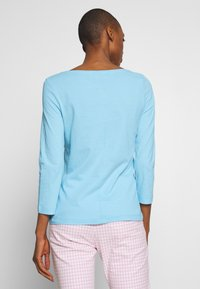 Tommy Hilfiger - CLASSIC BOAT NECK 3/4 SLEEVE  - T-shirt à manches longues - sail blue - 2