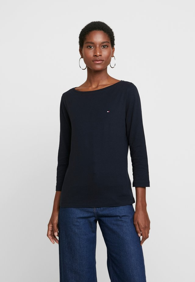 CLASSIC BOAT NECK 3/4 SLEEVE  - Long sleeved top - desert sky