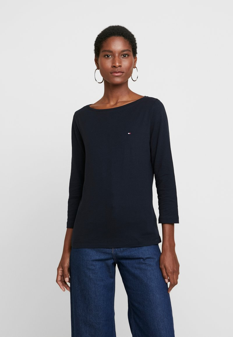Tommy Hilfiger - CLASSIC BOAT - Long sleeved top - desert sky