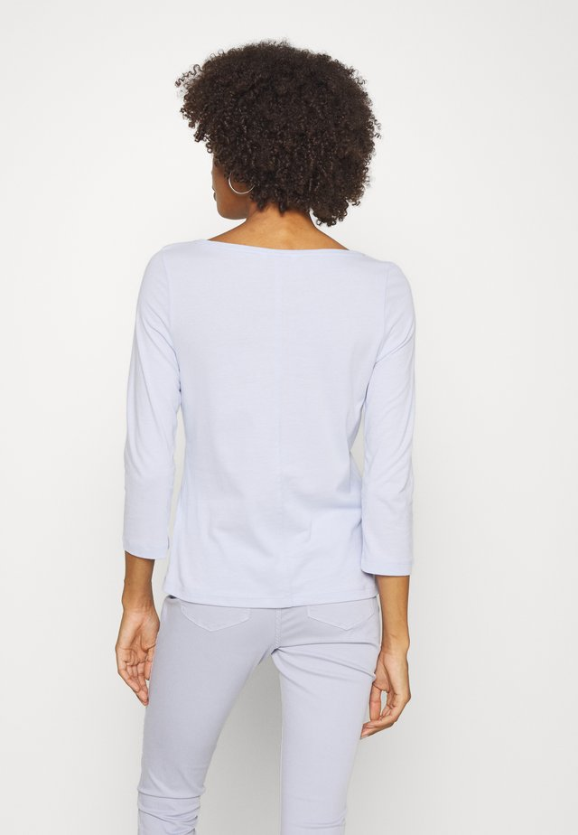 Long sleeved top - bliss blue