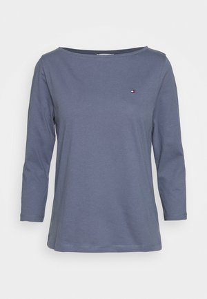 CLASSIC BOAT NECK 3/4 SLEEVE  - T-shirt à manches longues - faded cabon blue
