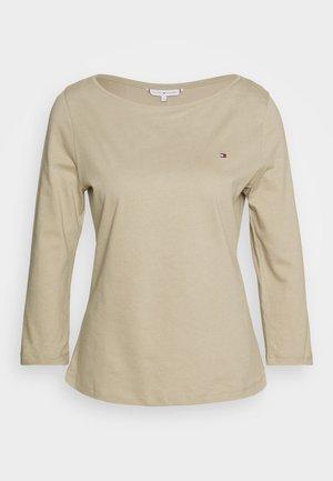 CLASSIC BOAT NECK 3/4 SLEEVE  - Bluzka z długim rękawem - surplus khaki