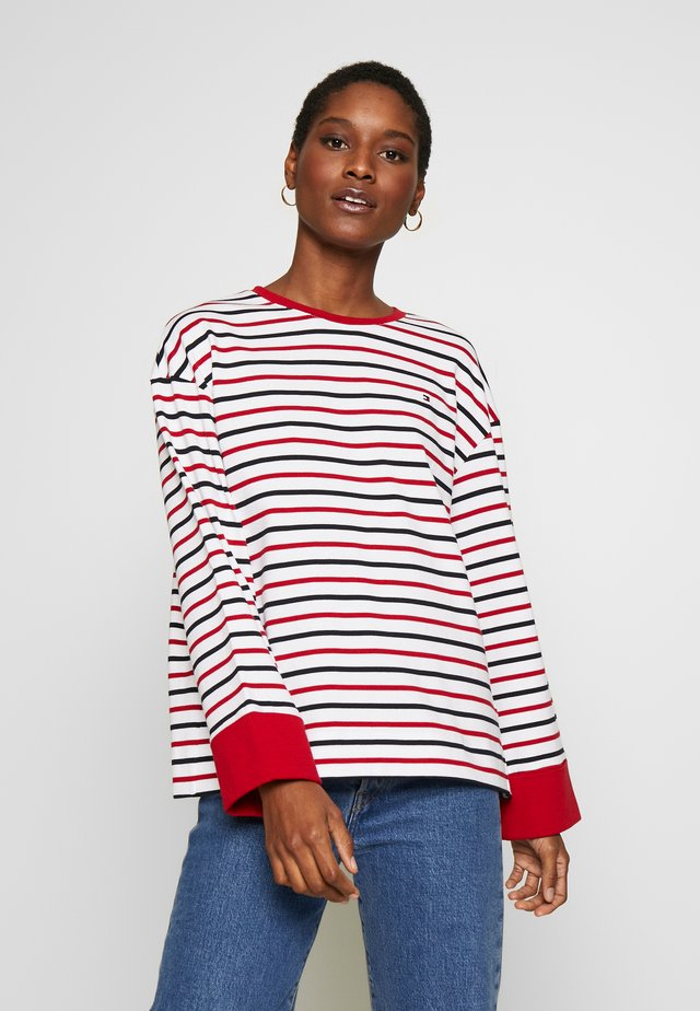 SCOTTIE TOP - Jersey de punto - breton/white