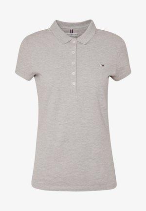 NEW SHORT SLEEVE SLIM - Polo shirt - light grey heather