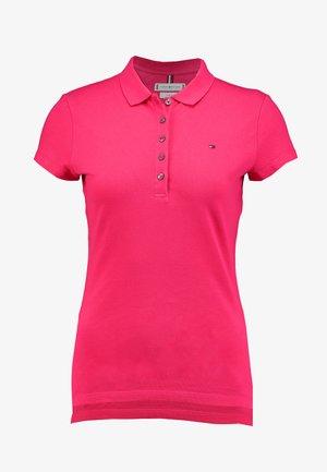 NEW SHORT SLEEVE SLIM - Koszulka polo - bright jewel
