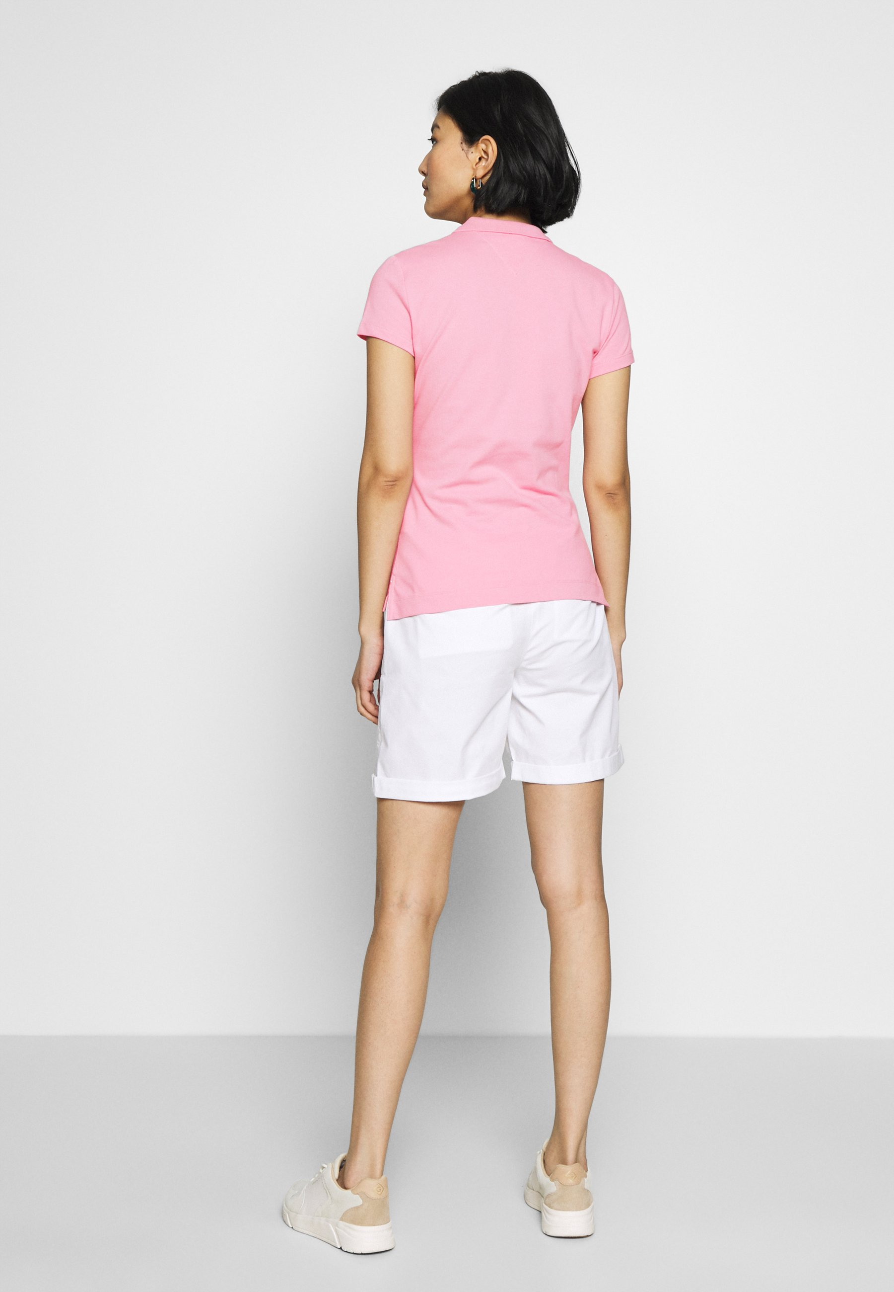 Tommy Hilfiger New Short Sleeve Slim - Polo Shirt Matte Pink