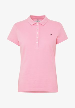 NEW SHORT SLEEVE SLIM - Polo - matte pink