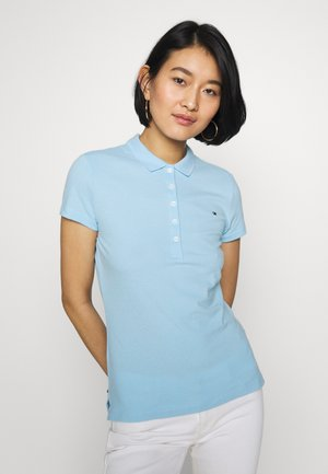 NEW SHORT SLEEVE SLIM - Polo - sail blue