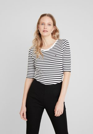ESSENTIAL - Print T-shirt - black/white