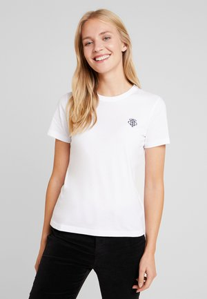 EMBROIDERY TEE - T-shirt basic - white
