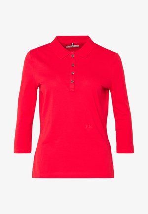 ESSENTIAL POLO - Langarmshirt - red alert