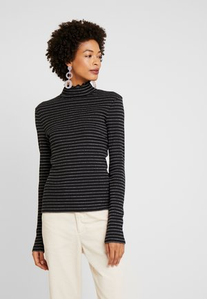 PIP ROLL - Long sleeved top - black