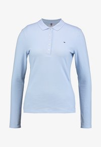 Tommy Hilfiger - LONG SLEEVE SLIM - Polo shirt - breezy blue - 3