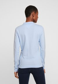 Tommy Hilfiger - LONG SLEEVE SLIM - Polo shirt - breezy blue - 2