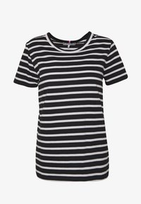 Tommy Hilfiger - COOL RELAXED TEE - T-shirt imprimé - white/black - 4