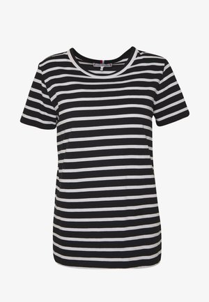 COOL RELAXED TEE - T-shirts med print - white/black