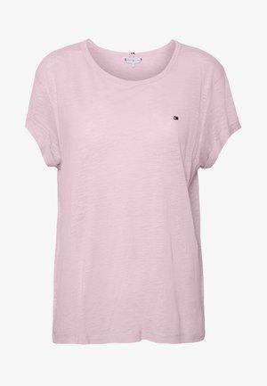 VIKKI ROUND - Basic T-shirt - frosted pink