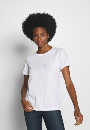 ALISSA REGULAR - Camiseta estampada - white