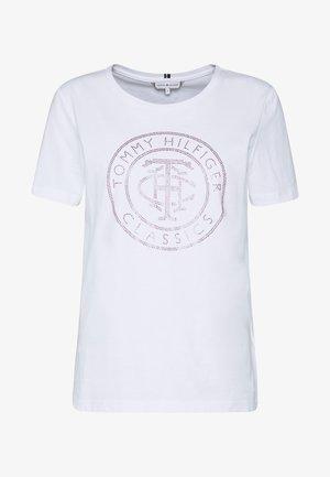 TIARA - T-shirt med print - white